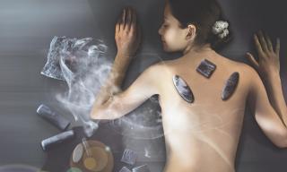 Tuffbad Massage
