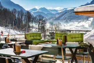 Aktivhotel Gasteiner Einkehr Terrasse