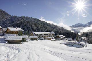 Almwellness Resort Tuffbad Winter