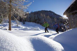 Hotel Falknerhof snowshoe hiking