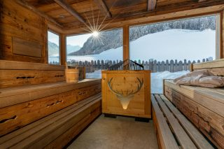 Hotel Jaufentalerhof Sauna