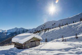 Magdalenahof Winterlandschaft