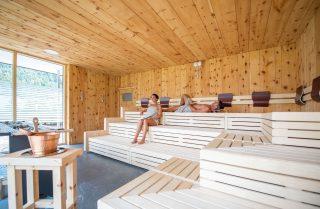 Vierbrunnenhof Sauna©Rotwild