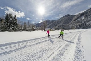 Tuffbad cross-country skiing