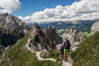 Wandern im Berghotel Sexten
