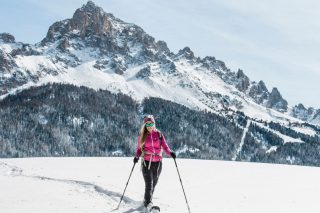 Marica Snowshoeing