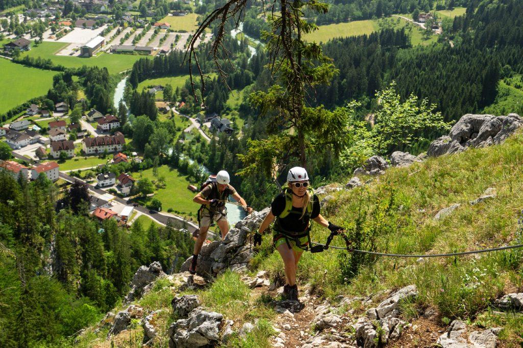 Poppengut Klettersteig