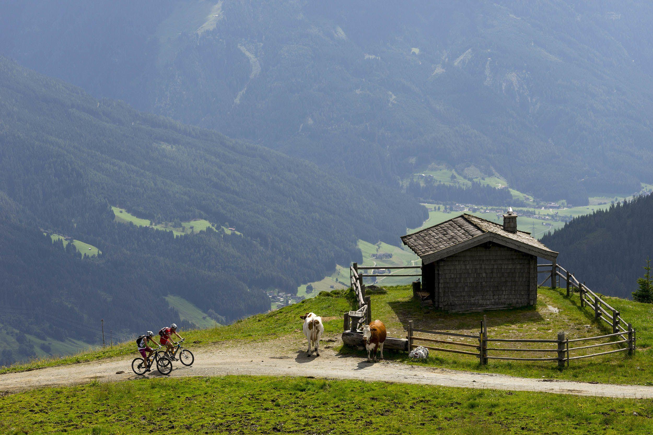 Wanderhotel Kirchner - biken