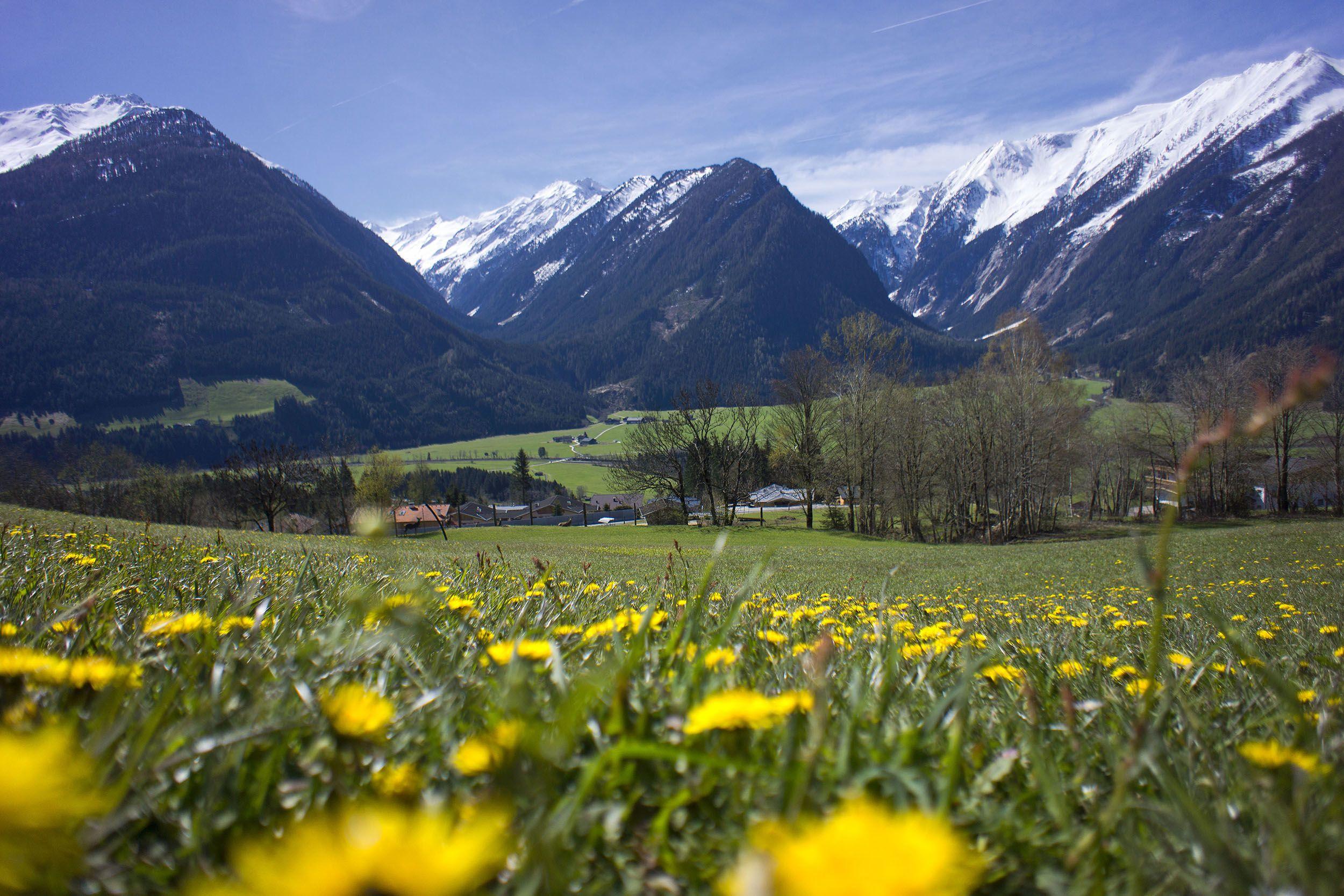 Nationalpark Hohe Tauern, die Sulzbachtäler