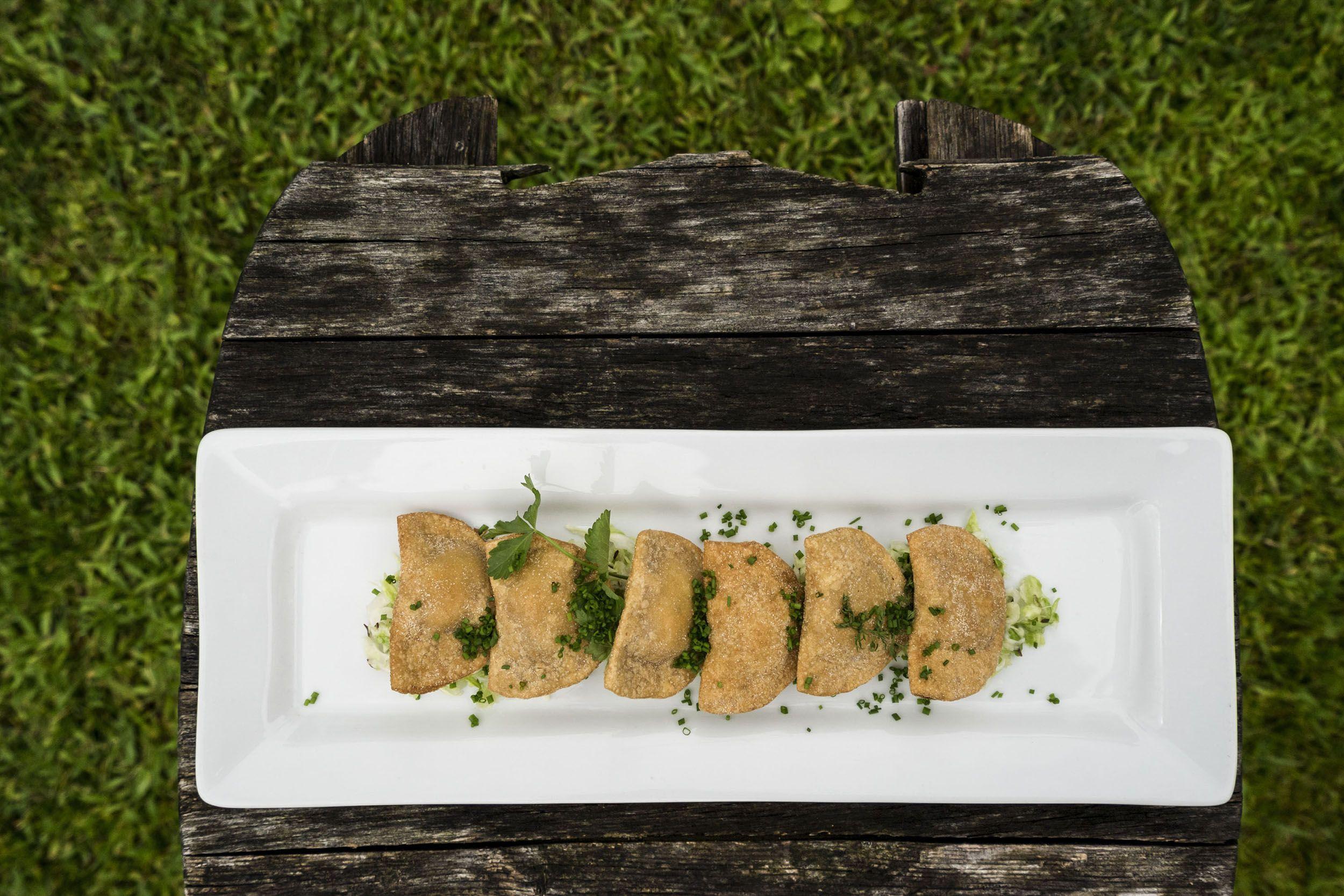 Vegetarisches Gericht im Vitalhotel Taubers