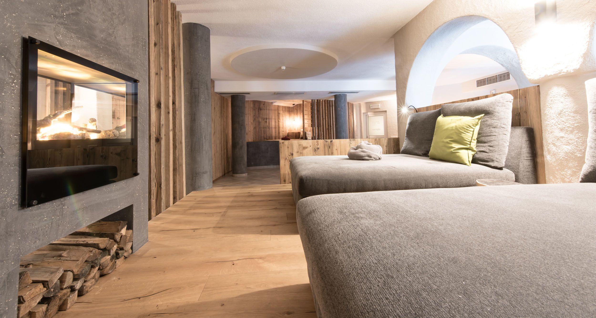 Wie überall im Haus ist auch der Relax-Bereich modern, stylish und zugleich gemütlich.