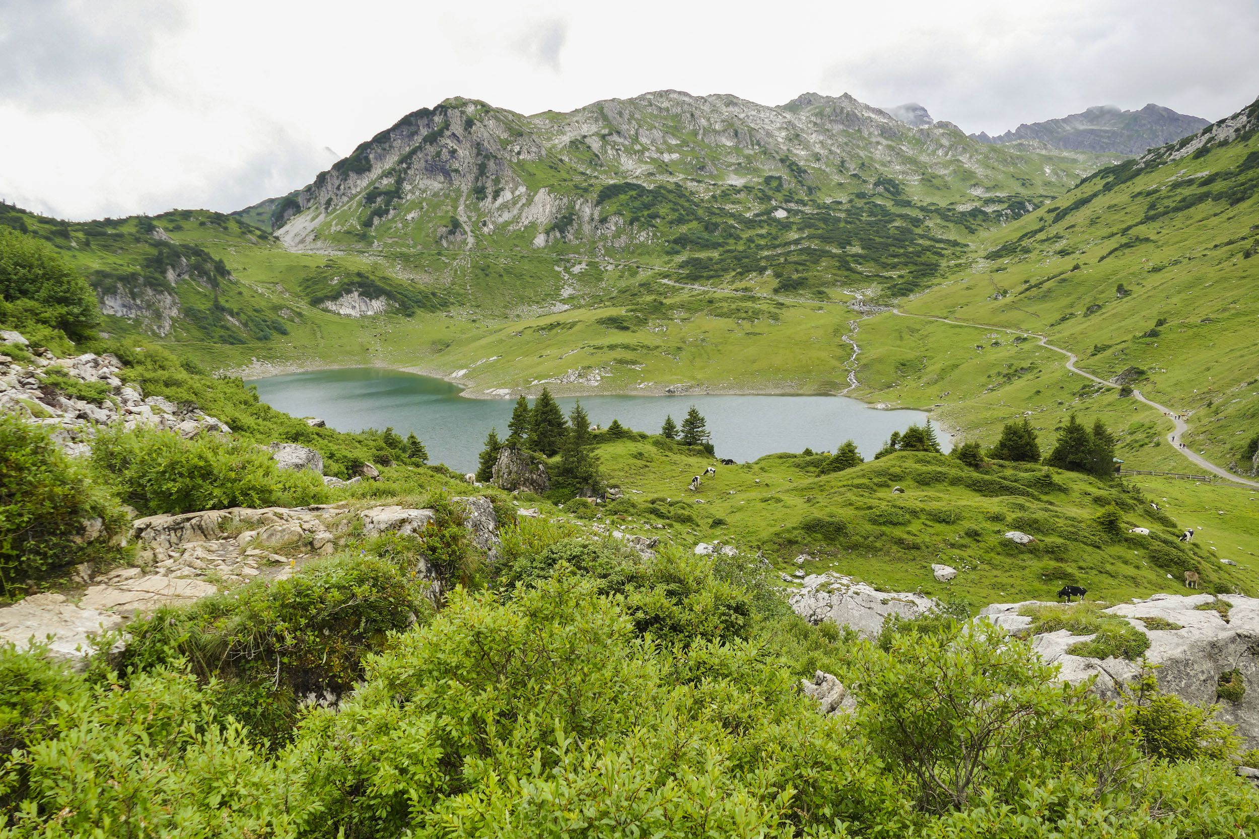 Formarinsee bei Lech