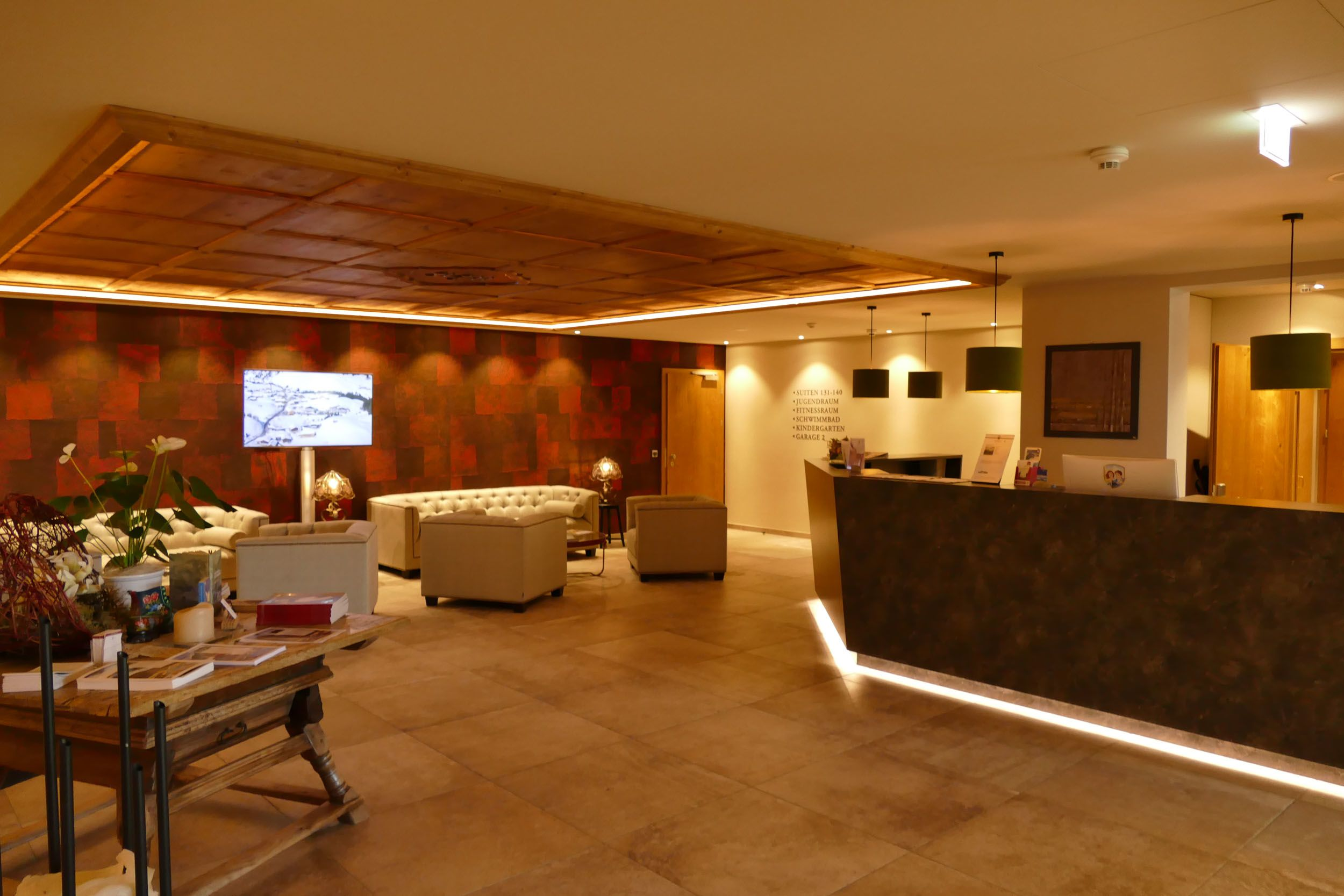 Hotel Jägeralpe Lobby