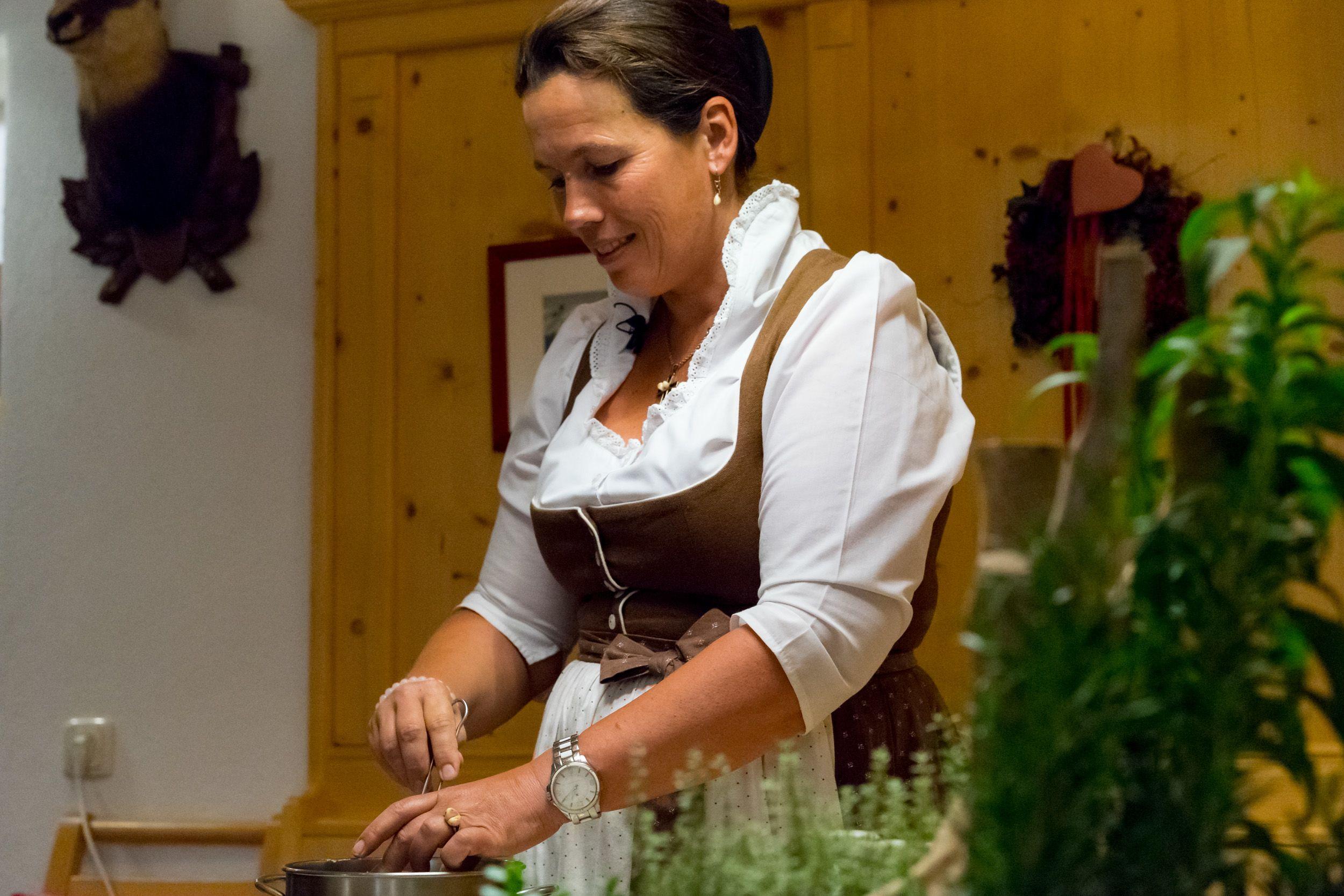 Kräuterworkshop mit Susi