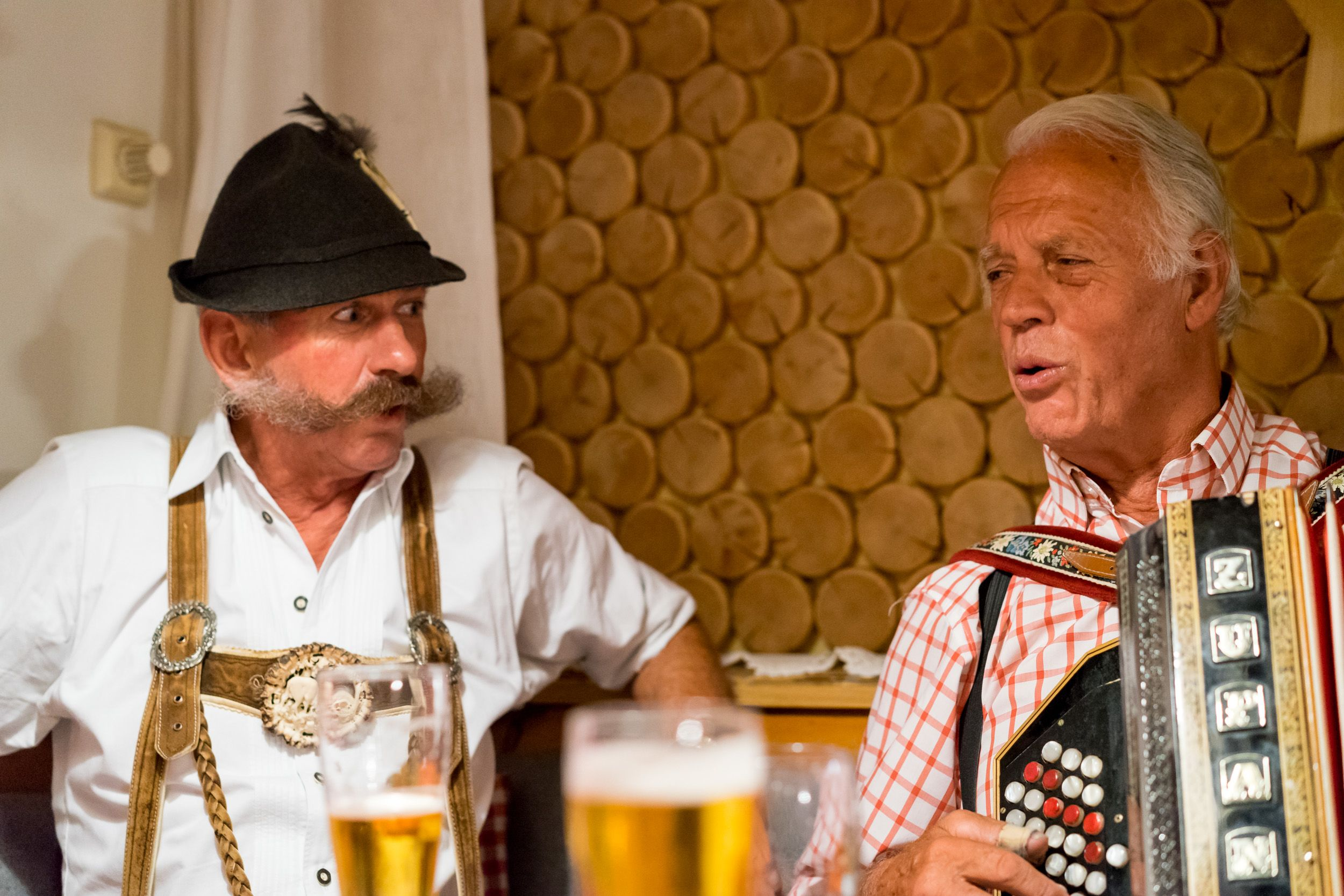 Musik-Abend mit Seniorchef Werner