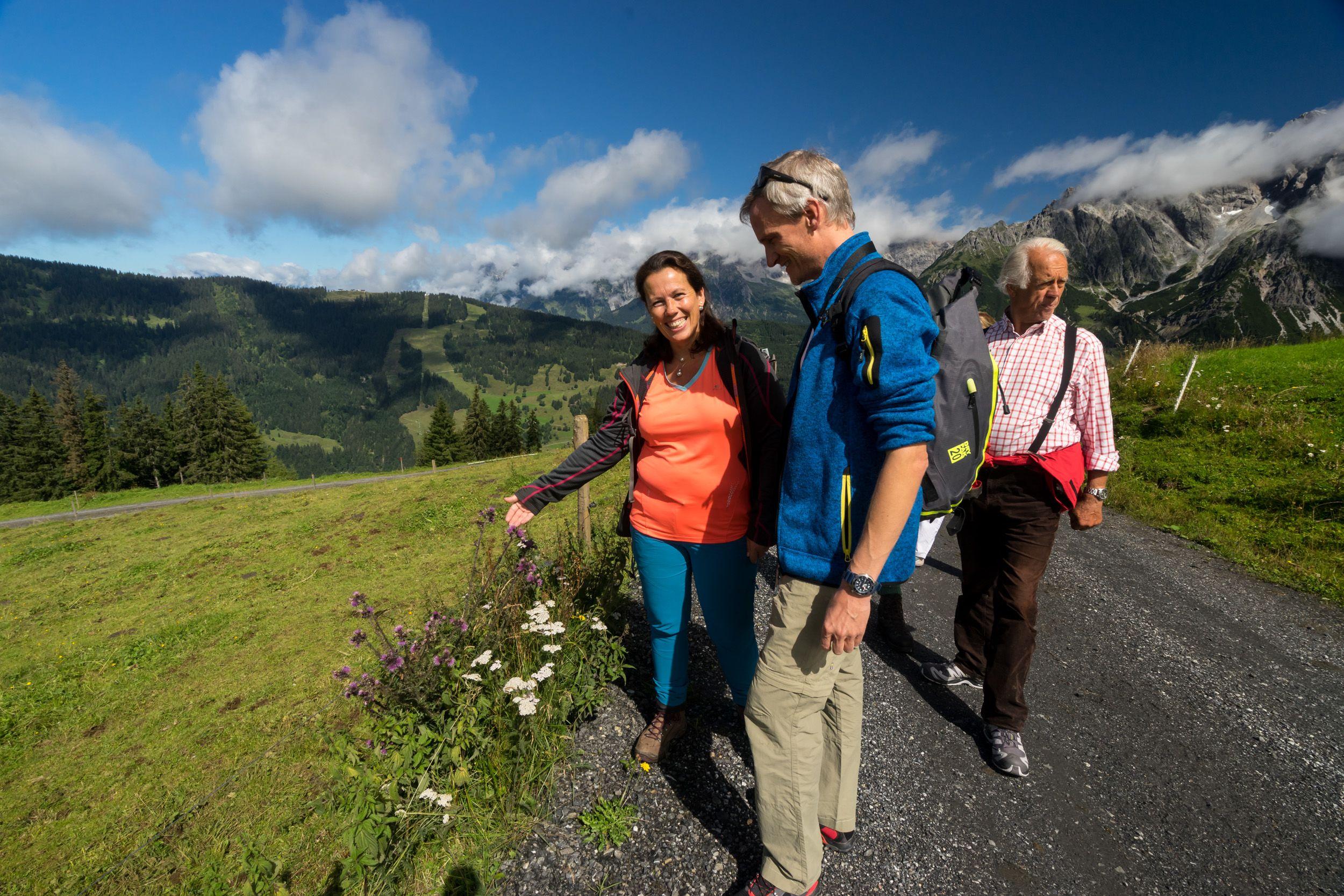 Kräuterwanderung mit Susi vom Wanderhotel Schafhuber in Maria Alm