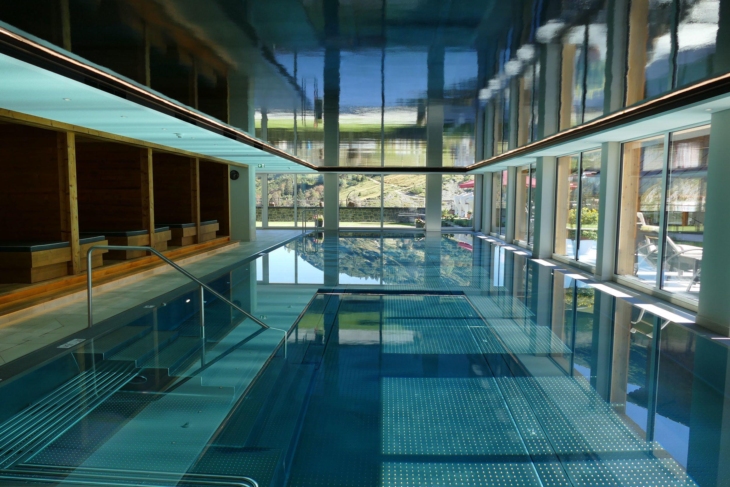 Wanderhotel Jägeralpe Schwimmbad