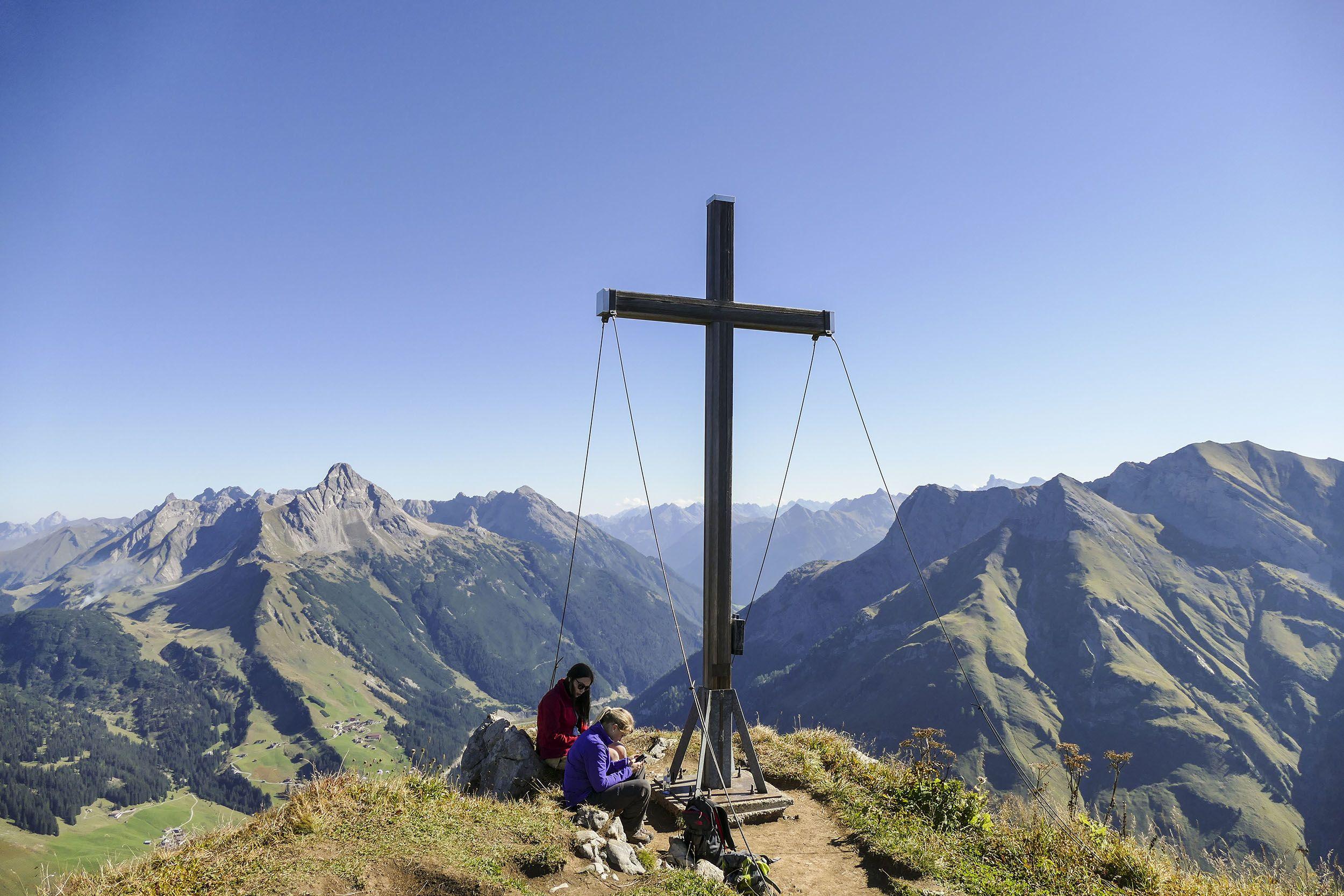 Wanderhotel Jägeralpe: Wanderung auf das Warther Horn