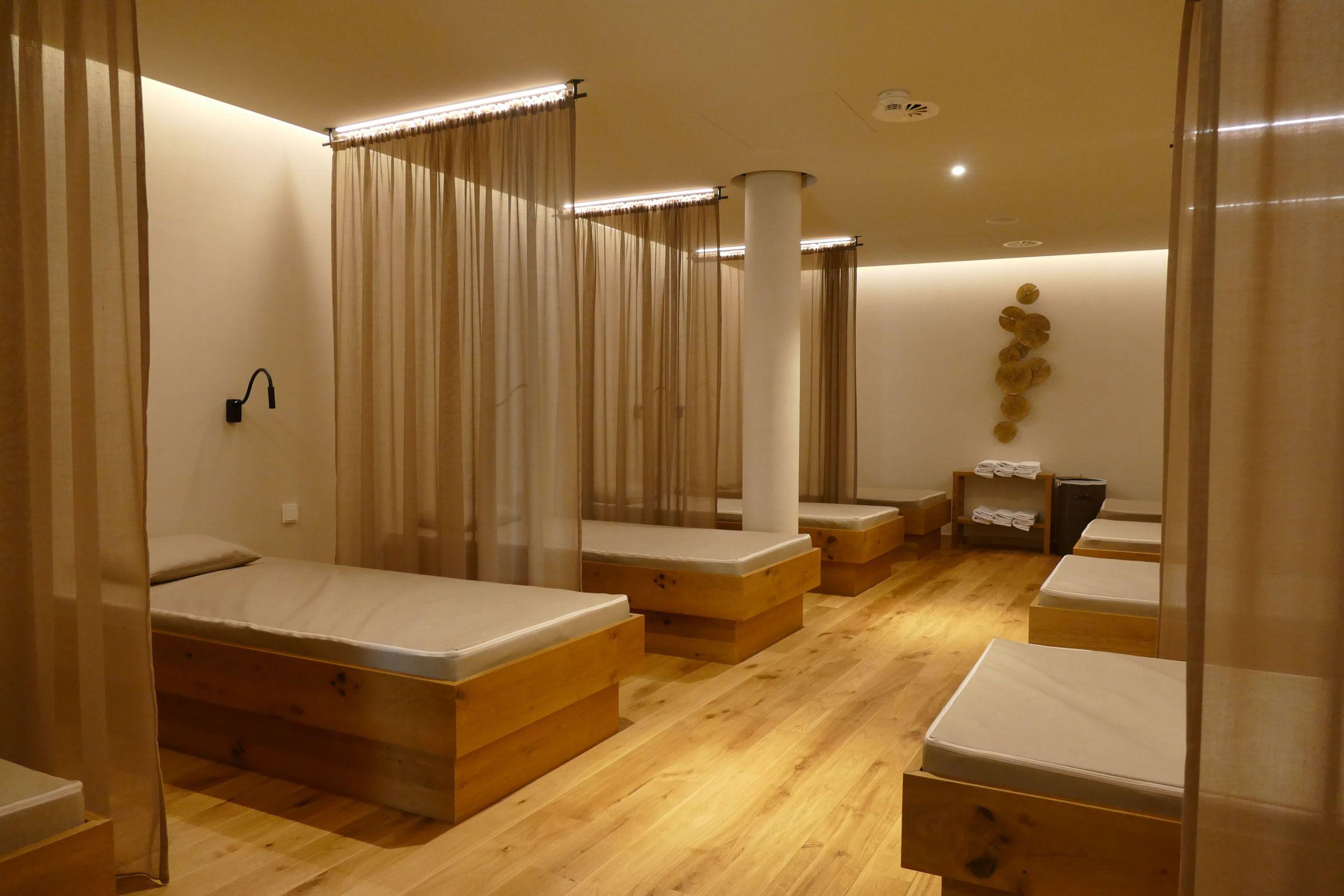 Wellnessbereich im Hotel Jägeralpe