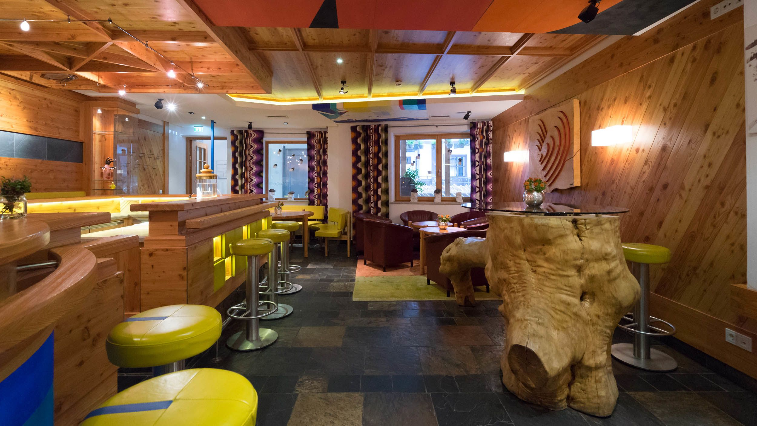 Bar im Hotel Glemmtalerhof in Saalbach Hinterglemm
