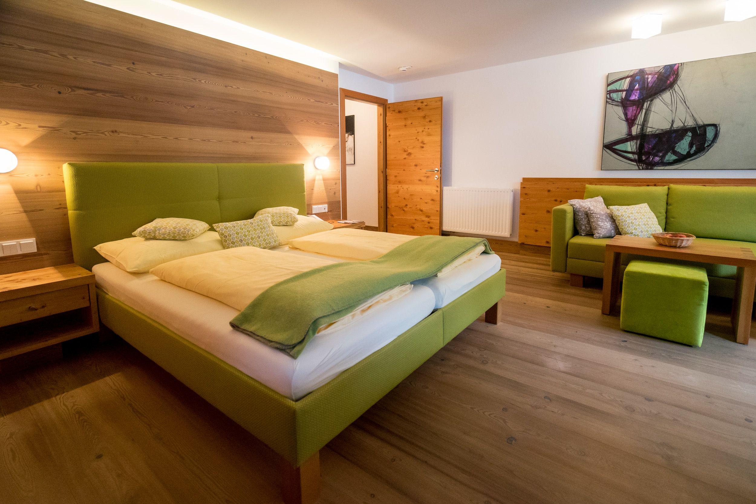 Ein Zimmer Superior Herz Dame im Hotel Glemmtalerhof in Saalbach Hinterglemm