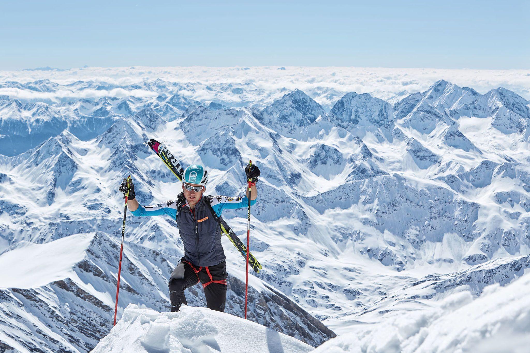 Perfekte Bedingungen zum Skiwandern in Osttirol am Groß Glockner (c) Willi Seebacher