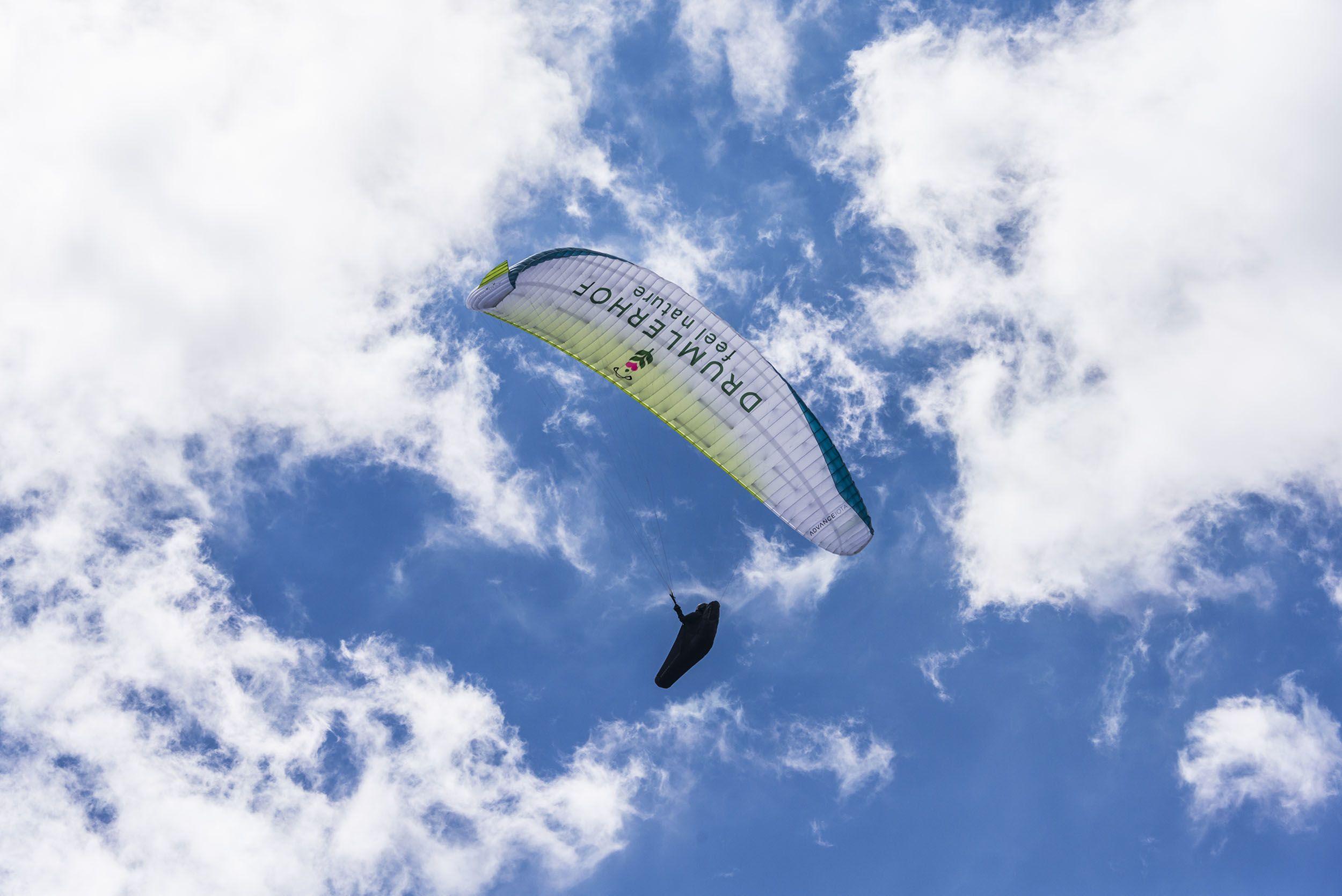 Paraglider im Tauferer Ahrntal