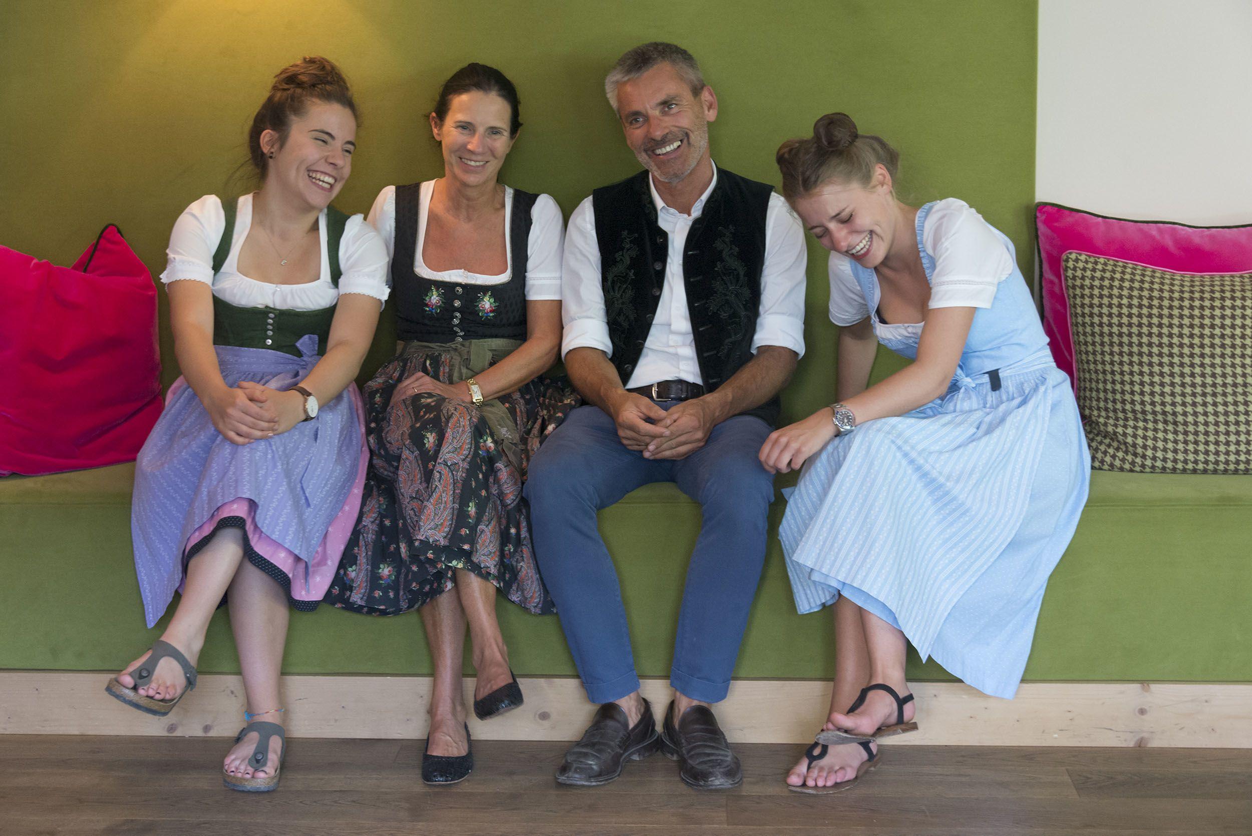 Drumlerhof, die Familie