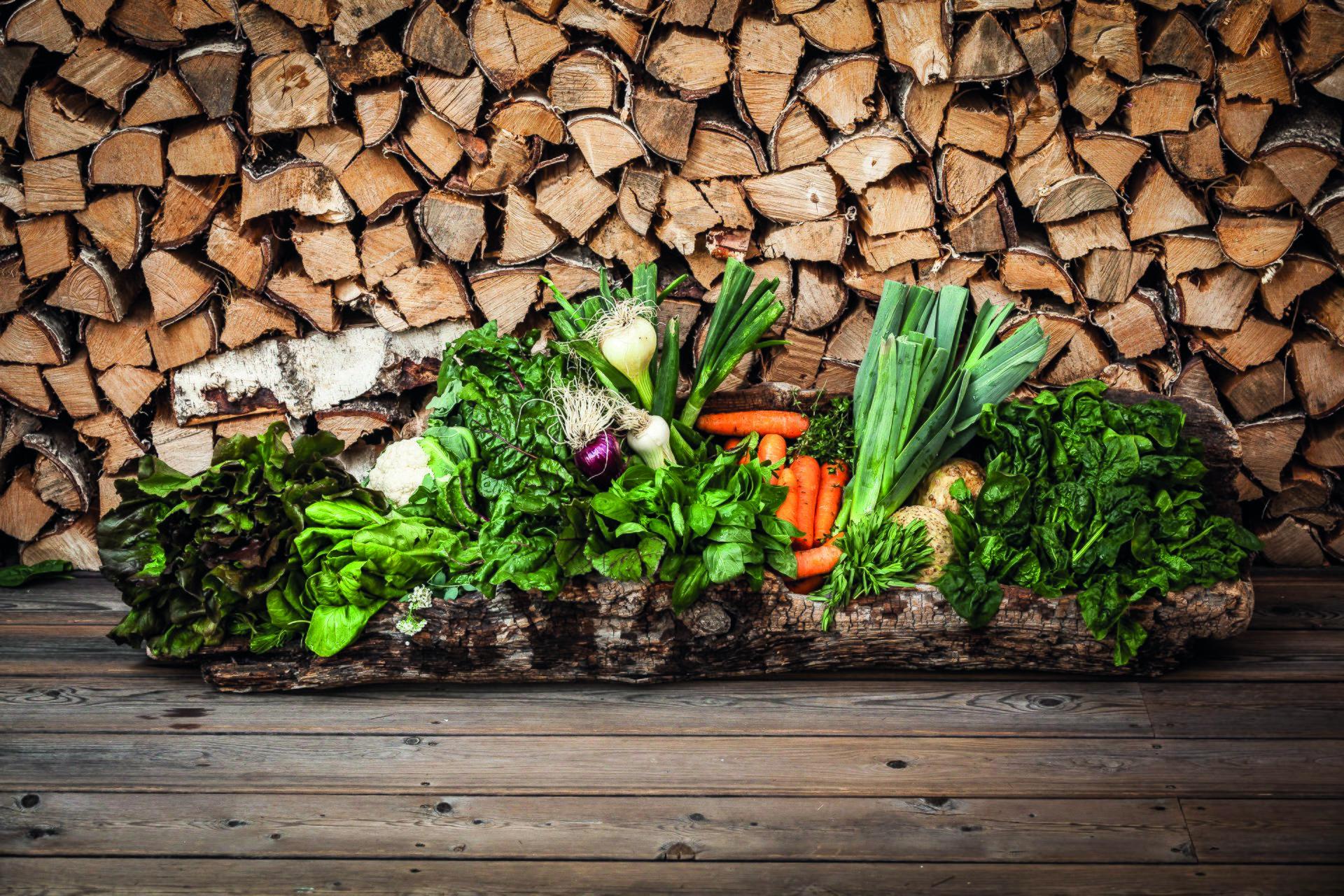 Drumlerhof Holz und Gemüse