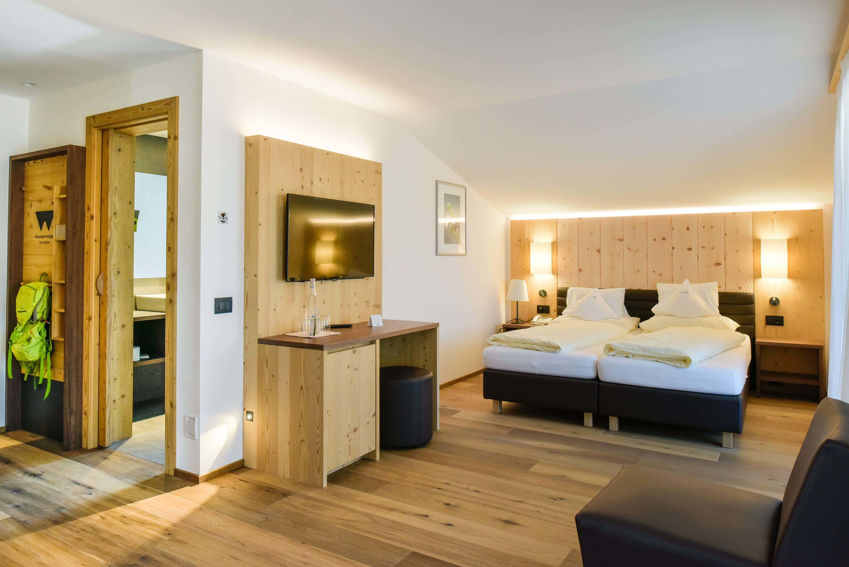 Zimmer im Hotel Europa