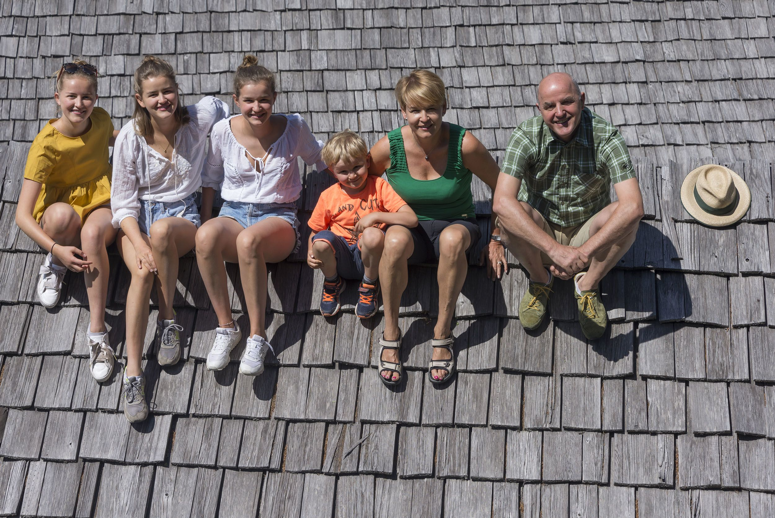 Familie Hinteregger vom Hotel Lüsnerhof