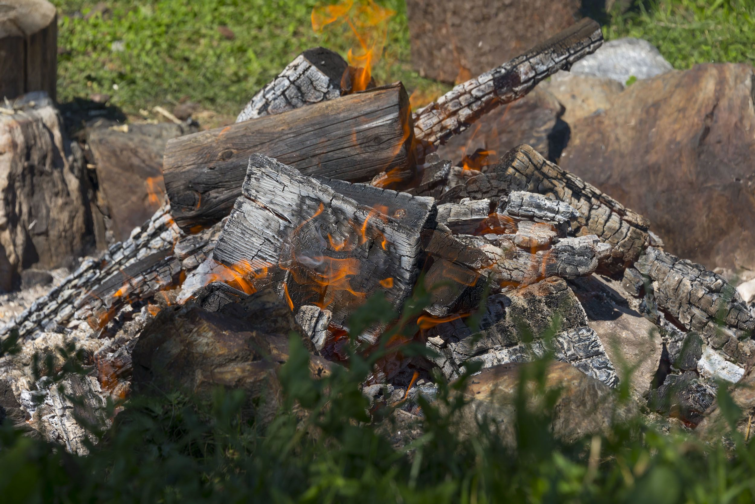 Das Schwitzhüttenritual © Udo Bernhart