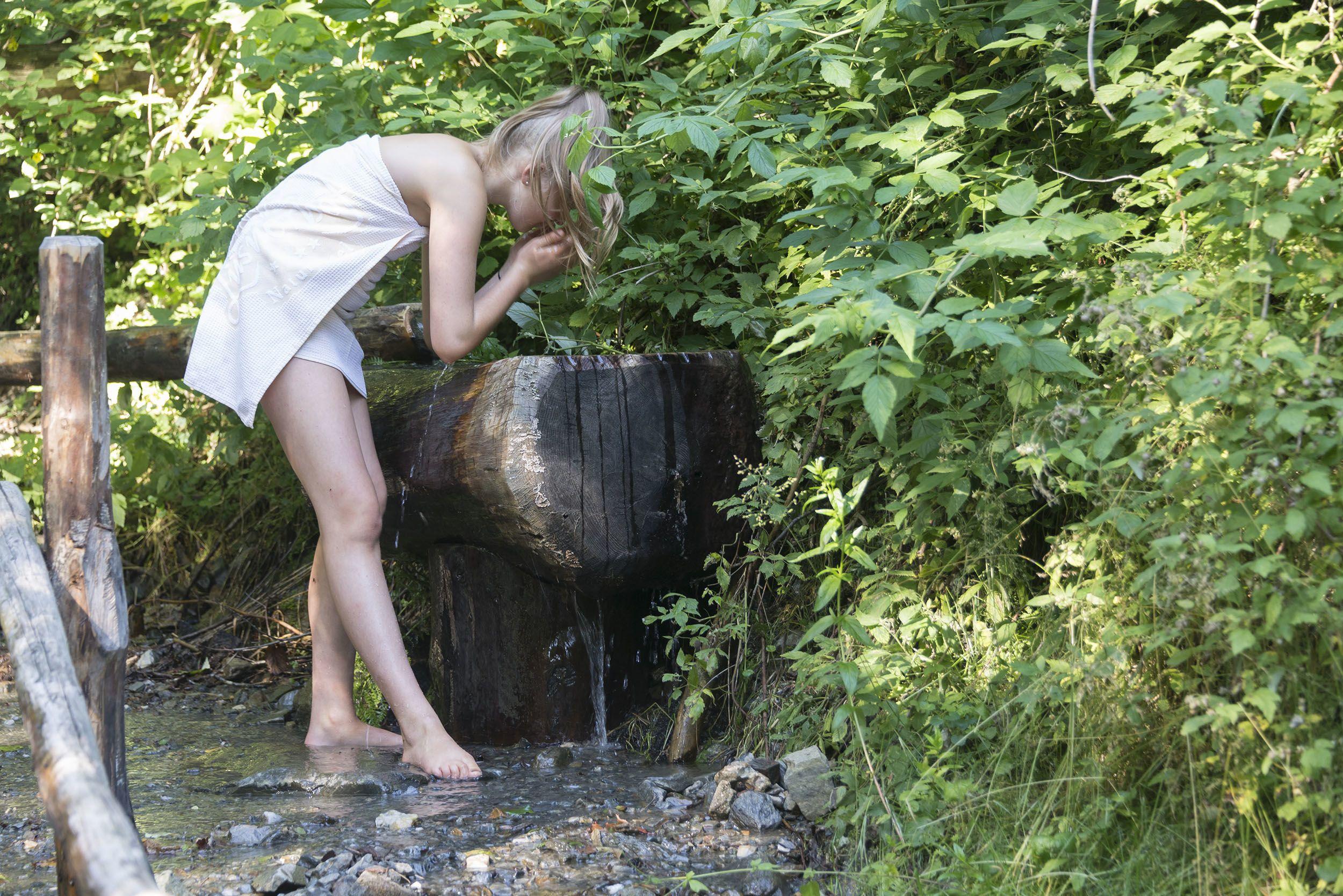 Badehaus und Wellnessgarten © Udo Bernhart