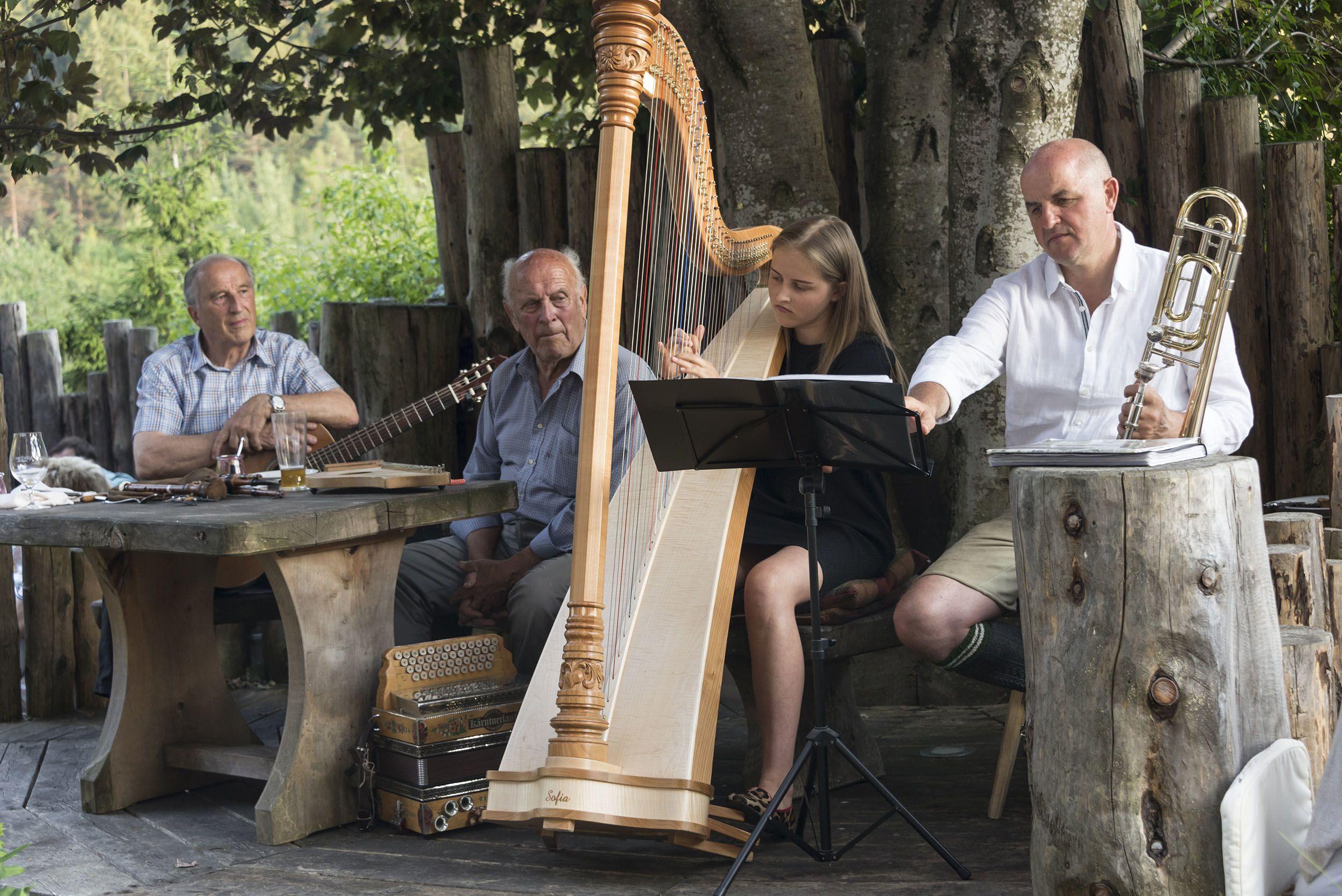 Hausmusik am Lüsnerhof © Udo Bernhart