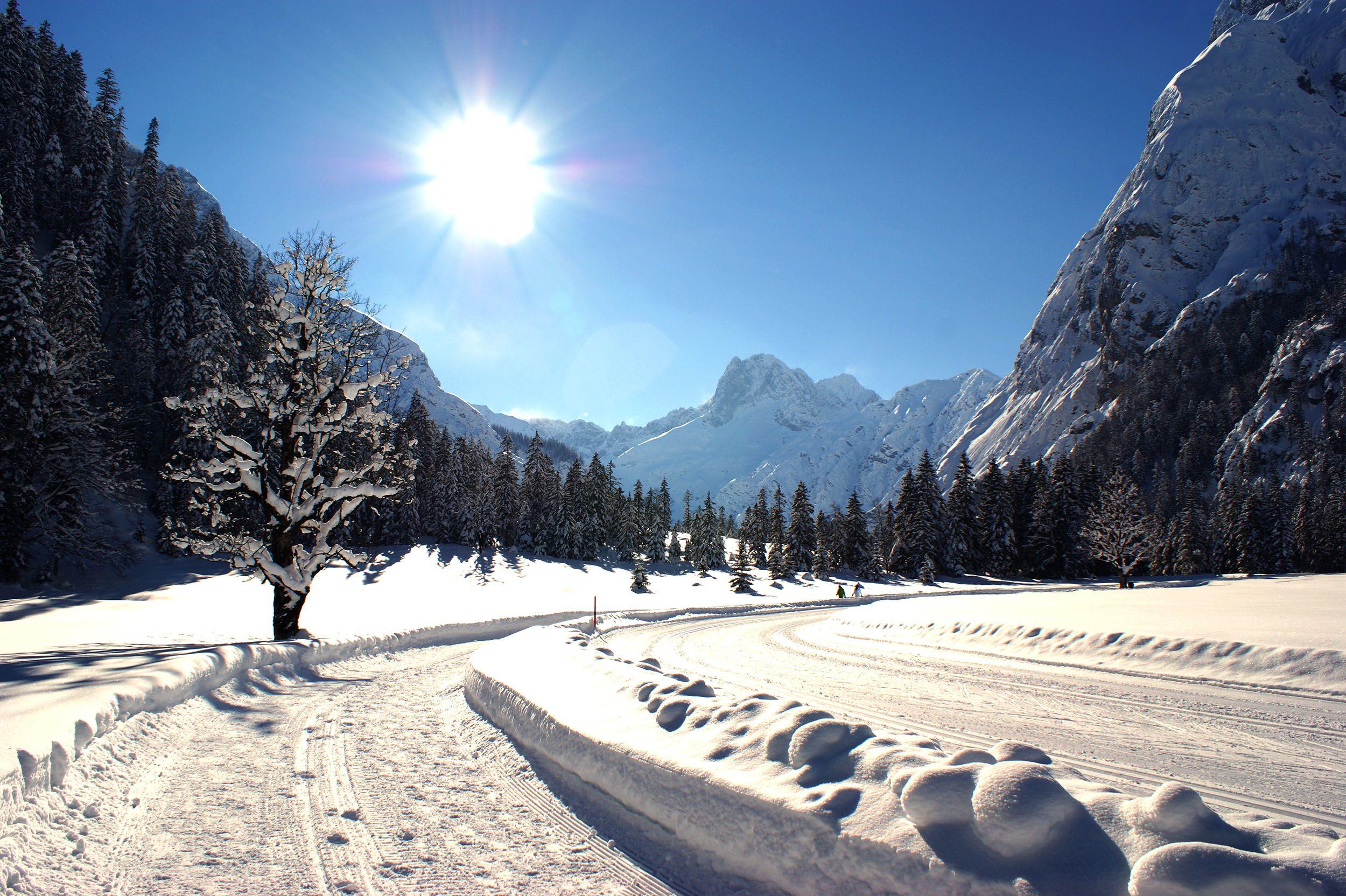 Achensee, Winter im Naturpark Karwendel