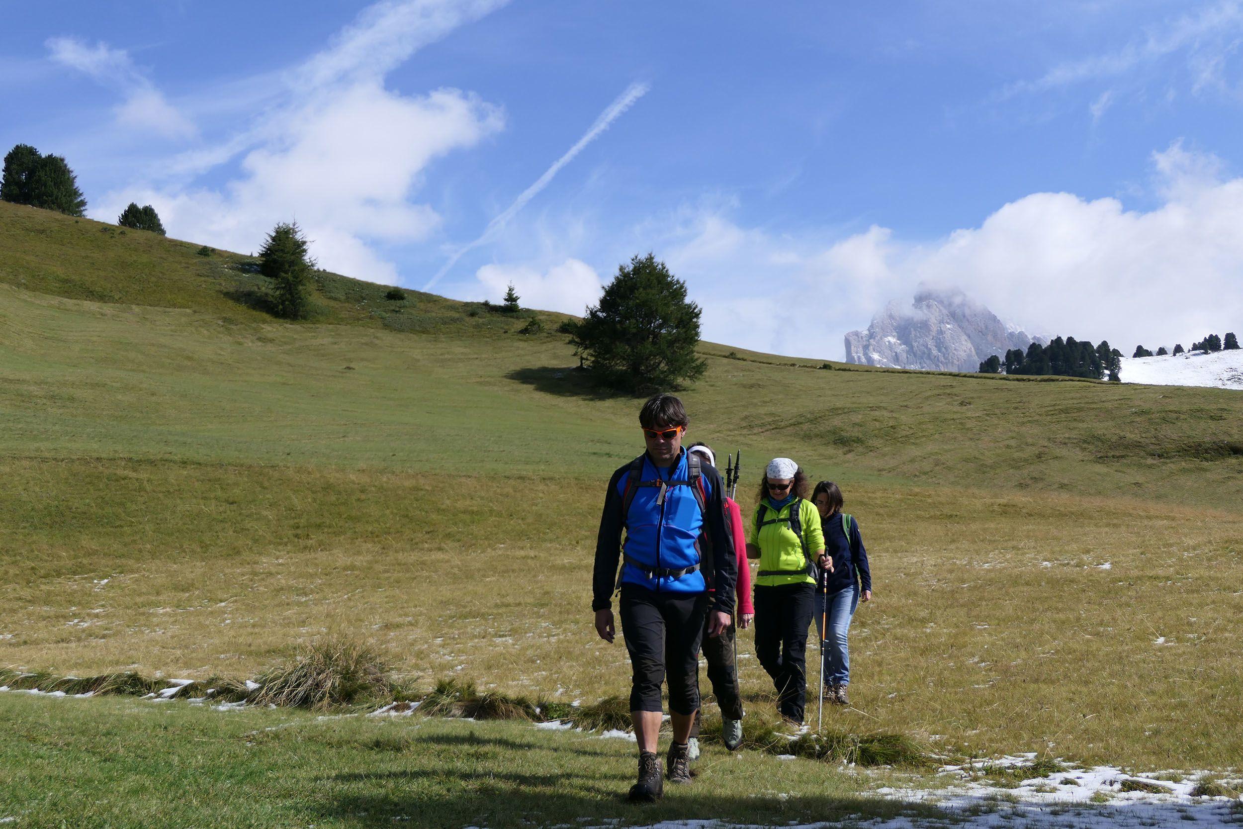 Wanderung zum Kreuz Cruieta