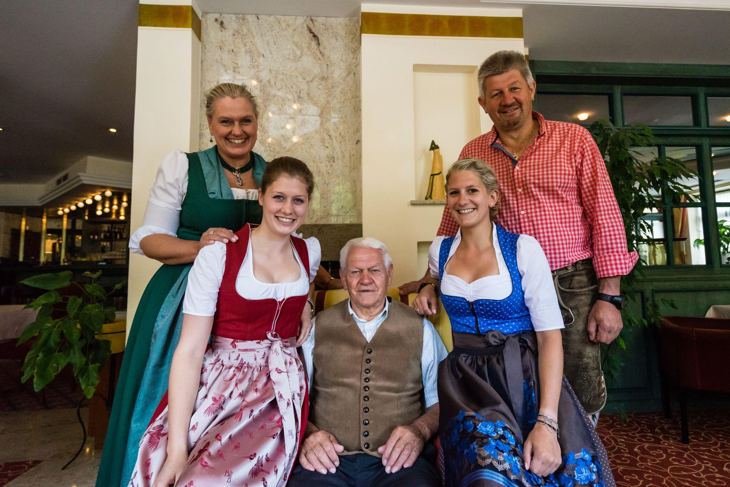 Die Hoteliers-Familie vom Vital-Hotel Post