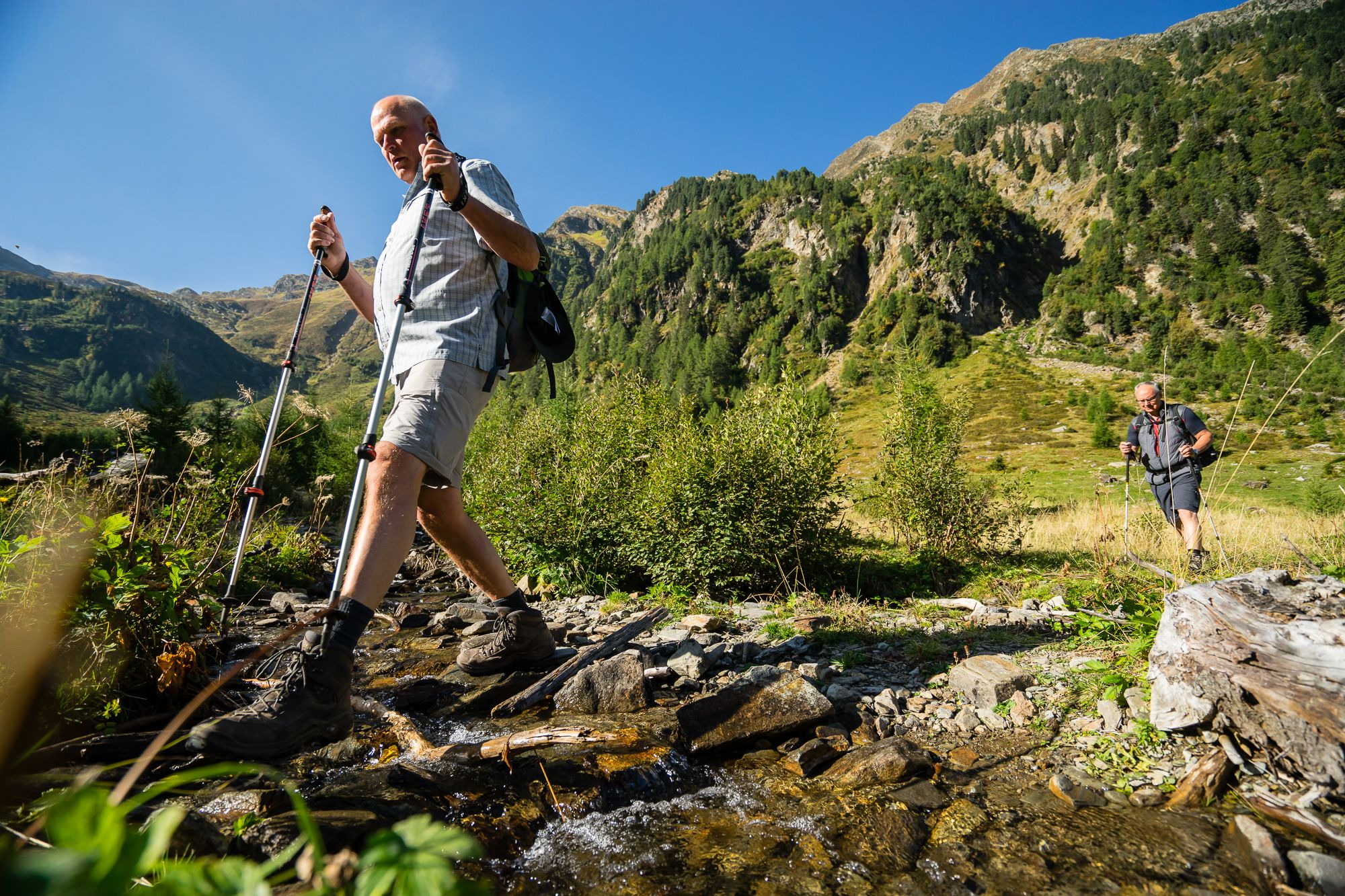 Wanderung zur Pernfiechtalm