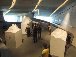 Oberer Ausstellungsraum des MMM Corones