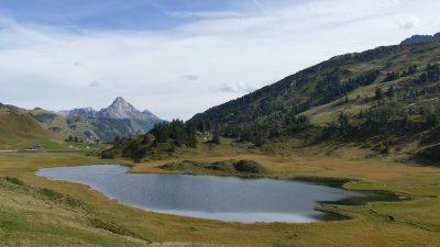 Landschaft am Hochtannbergpass