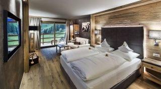 Das Naturzimmer Jungbrunn im Hotel Cyprianerhof
