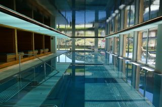 Wanderhotel Jägeralpe SchwimmbadWanderhotel Jägeralpe: Schwimmbad mit Kinderschwimmbad