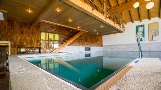 Wellness-Bereich Hotel Glemmtalerhof in Saalbach Hinterglemm, Österreich; Wanderhotels