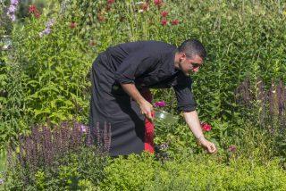 Küche im Lüsenerhof @ Udo BernhartItalien Suetirol Trentino Alto Adige Eisaktal Luesen Wander- und Naturhotel Luesnerhof Garten Gemuesegarten Garten Kuechenchef