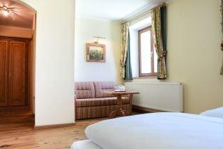 Ein Zimmer im Hotel Steffner-Wallner