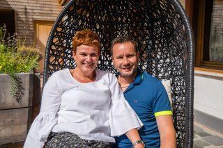 Dunja und Florian Girtler vom Jaufentalerhof