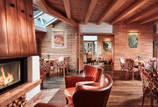 Excelsior Dolomites Life Resort Kamin