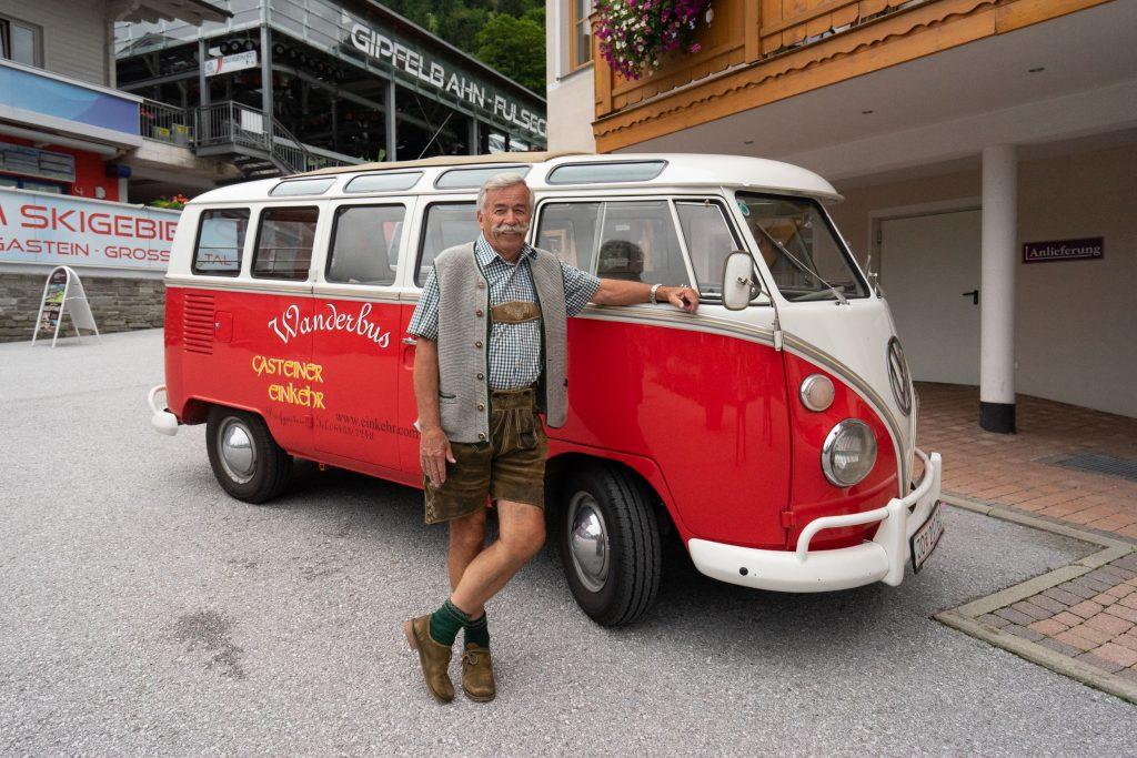"""Seniorchef August """"Gustl"""" Fanksteiner vom Hotel Gasteiner Einkehr"""