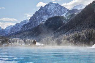 Infinity Pool im Excelsior Dolomites Life Resort©Michael Huber