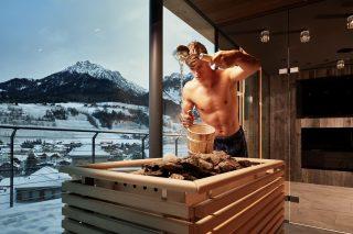 Sauna im Excelsior Dolomites Life Resort©Michael Huber